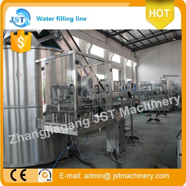 Automatic Aqua Beverage Filling Machine for Plastic Bottle pictures & photos