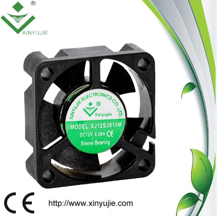 3D Printer DC Fan 30mm 30*30*10mm 24V High Air Flow Mini Fan pictures & photos