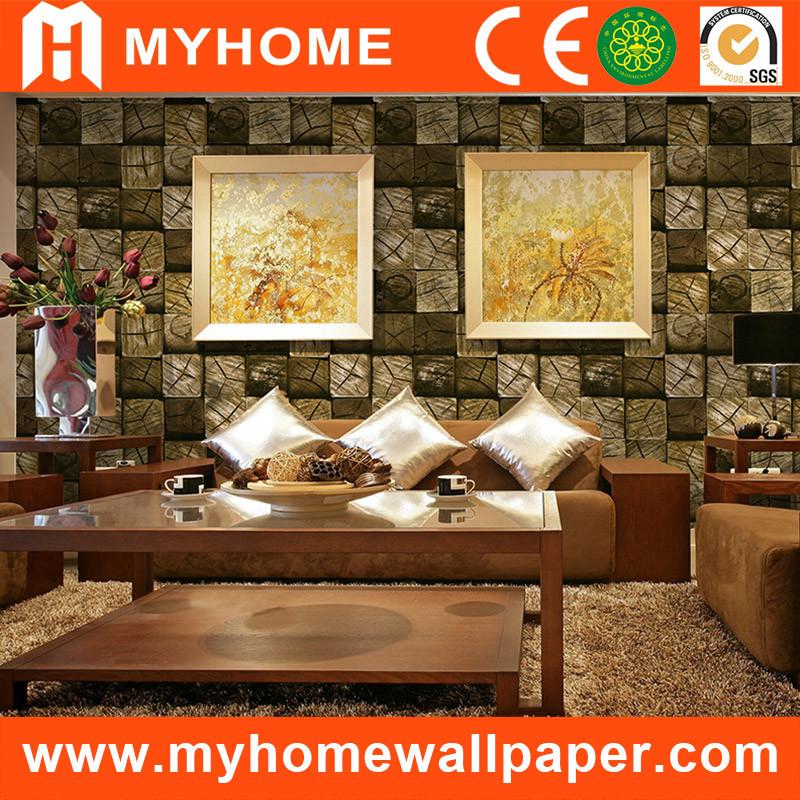 Hot Item Papel De Parede 3d Bricks Wallpaper