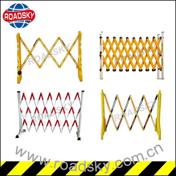 Portable Road Safety Traffic Plastic Folding Barrier for Sale pictures & photos