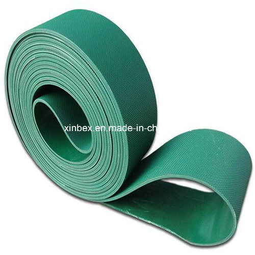 PVC Green High Friction Diamond Industry/Industrial Conveyor Belts pictures & photos