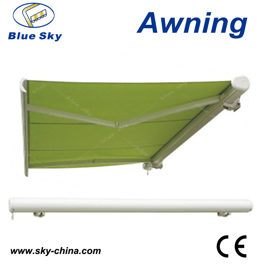 Balcony Electric Polyester Retractable Awning (B4100) pictures & photos