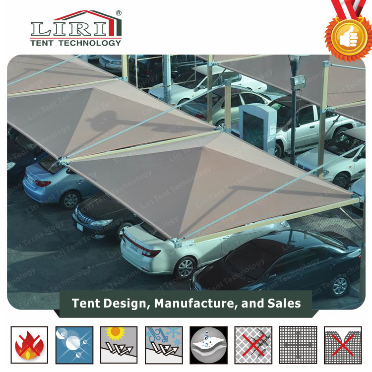 China Aluminum Clear Span Waterproof Pvc Car Garage Tent For Sale