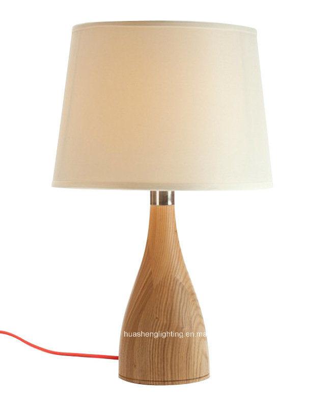 Solid Wood Desk Lamp Modern Simple