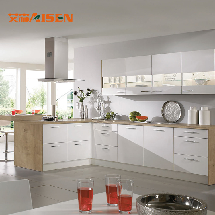 [Hot Item] New Arrival Modern Kitchen Set Montessori Material Free Used  Kitchen Cabinets