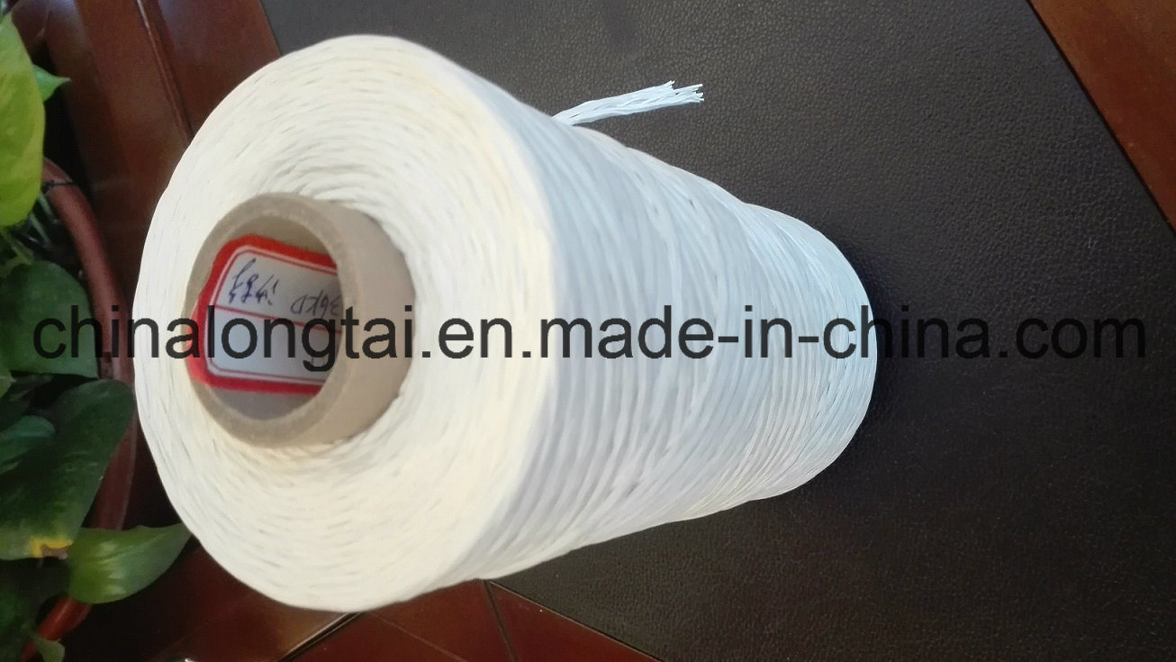 3000d-500000d Flame Retardant PP Cable Filler Yarn/PP Fibrillated Yarn pictures & photos