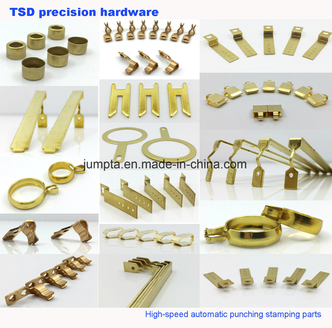 china custom stamping flat stainless steel spring clip stainless