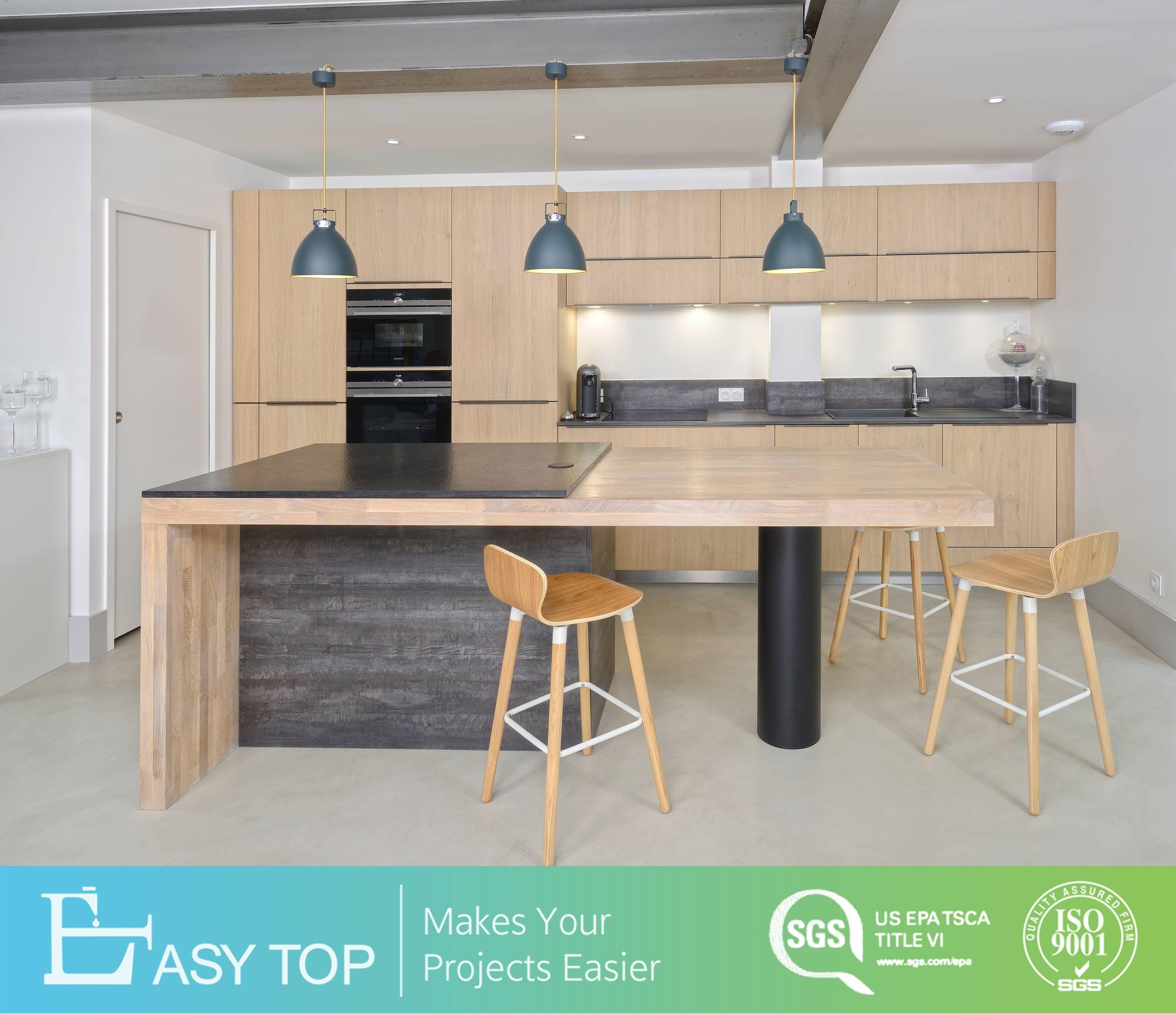 China Modern Wood Melamine Wall Almirah Design Kitchen Cabinet