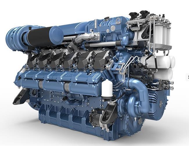 China French Brand Baudouin 12m26.3 Marine Propulsion Diesel Engines -  China Diesel Engine, Marine Engine