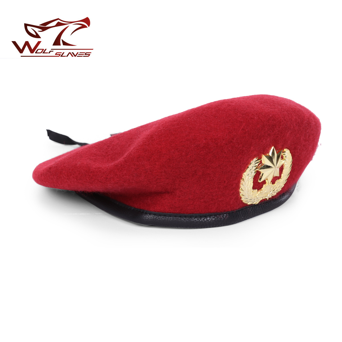 afa6ab7fcc402 Top Quality Wool Special Forces Military Berets Caps Mens Army Woolen  Beanies Outdoor Breathable Soldier Training Boinas Military with Badge