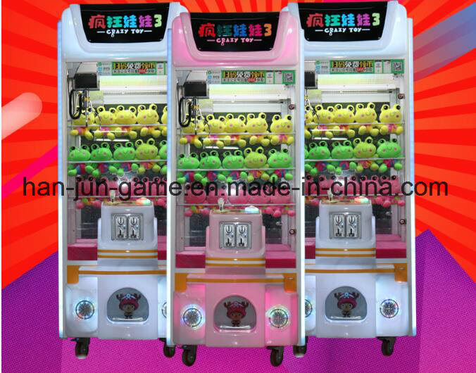 Toy Claw Electronic Game Machine Toy Crane Prize Game Machine pictures & photos