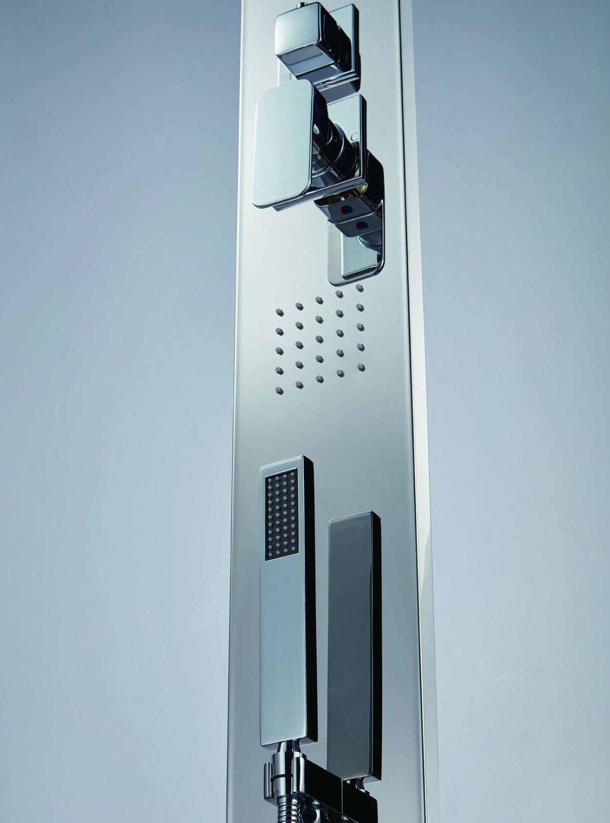 China #304 8k Stainless Steel Panel in Mirror Finish Shower Column ...