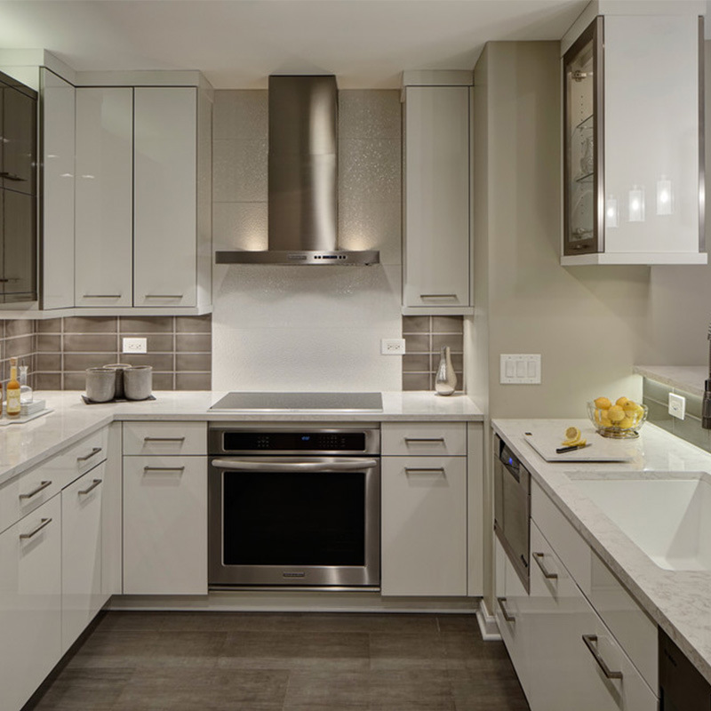 Home Furniture Modern European Style Kitchen Cabinet Mauritius