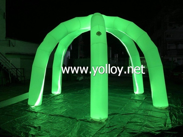 Inflatable Dome Archway Shape Tent Inflatable Decoration with LED Light & China Inflatable Dome Archway Shape Tent Inflatable Decoration with ...