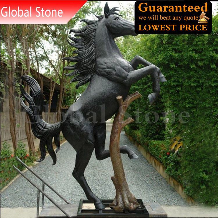 China Large Garden Statue Bronze Horse