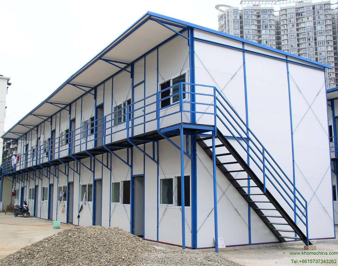 Economic Prefabricated House with Light Steel Frame