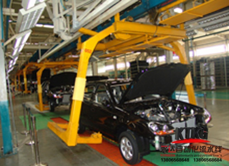 New Energy Car Conveying Assembly Line Professional Designed by Jdsk