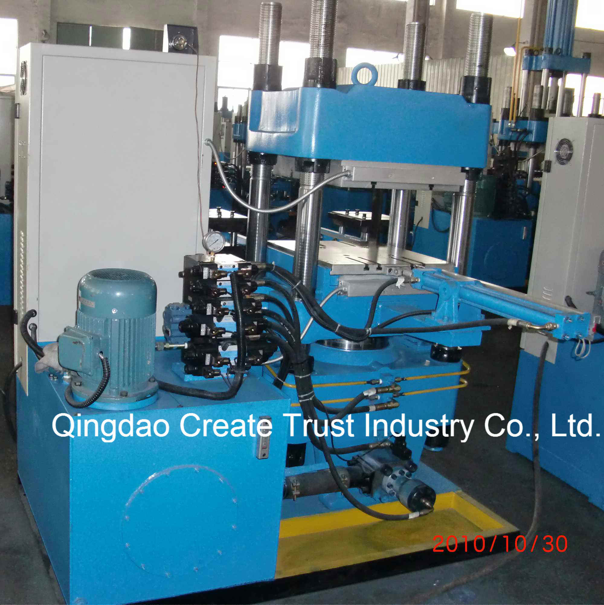 New Technical Full Automatic Rubber Plate Vulcanizing Press/Rubber Vulcanizing Machine (CE/ISO9001) pictures & photos