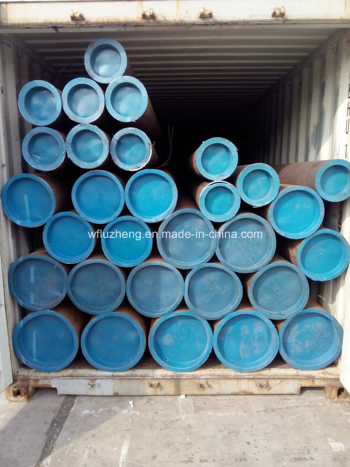 Black Pipe API 5L Psl1 Gr. B, Sch 40 and 80 X42 ERW Black Line Pipe
