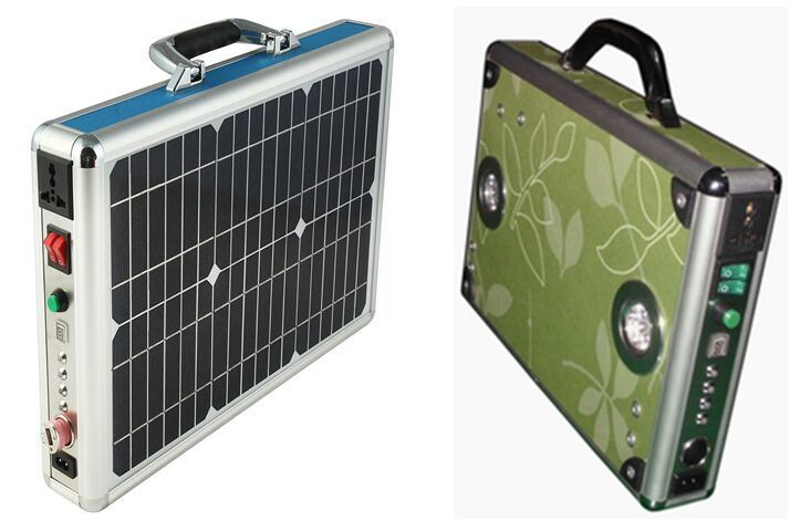 10W Solar Power System Portable Case Box From ISO Factory pictures & photos