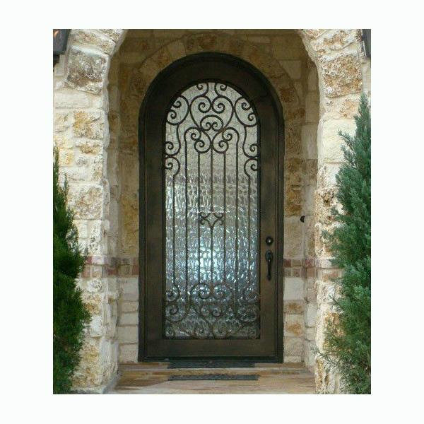 China Good Quality Home Used Single Iron Safety Door ...