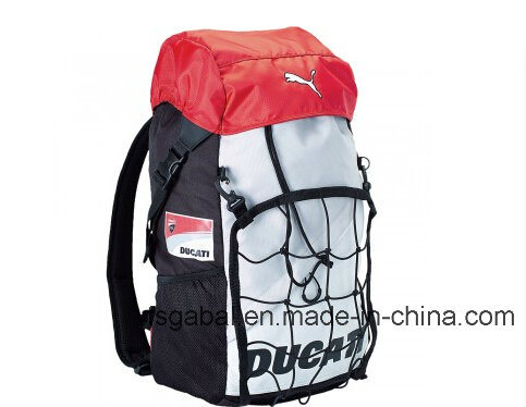53cc637733 Moto Knight Sports Helmet Bag Backpack with Net Pocket