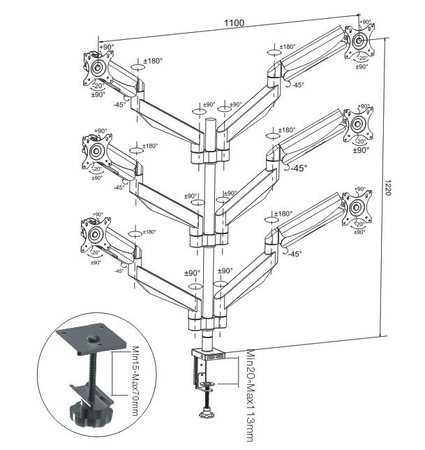 Lcd 16x2diagram