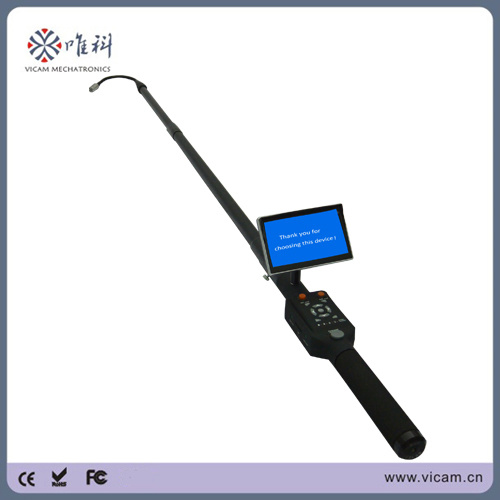China Telescopic Pole Video Inspection Camera with DVR