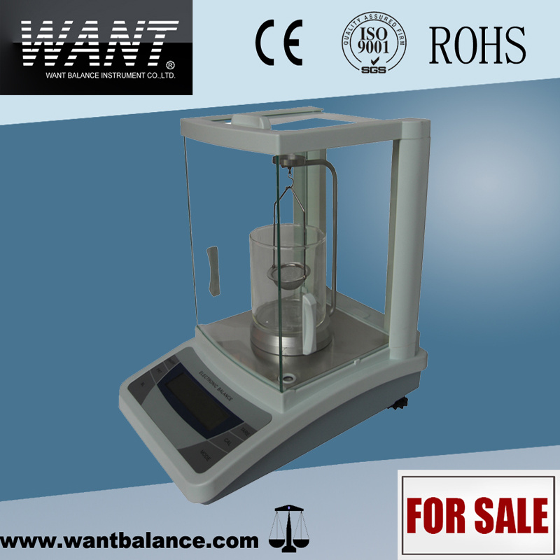 Laboratory Weighing Analytical Balance (0.0001g*0-100g/0-160g/0-200g/0-220g) pictures & photos