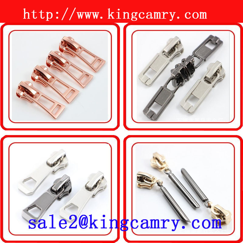 Nylon Zipper Slider Auto Lock Slider Metal Zipper Slider Zinc Alloy Zipper Slider Zipper & Slider pictures & photos