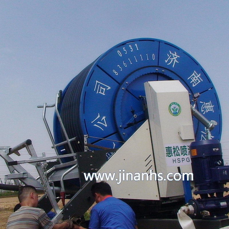 Compact Reel Spinkling Irrigation System