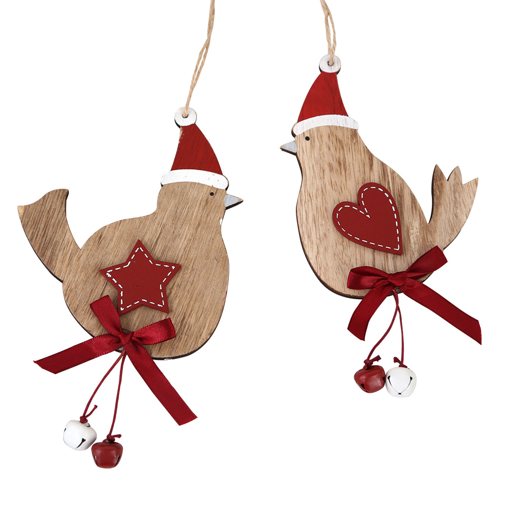 china wooden christmas hanging ornament for christmas decoration 2 ass china decoration wall hanging christmas decoration - Wooden Christmas Decorations