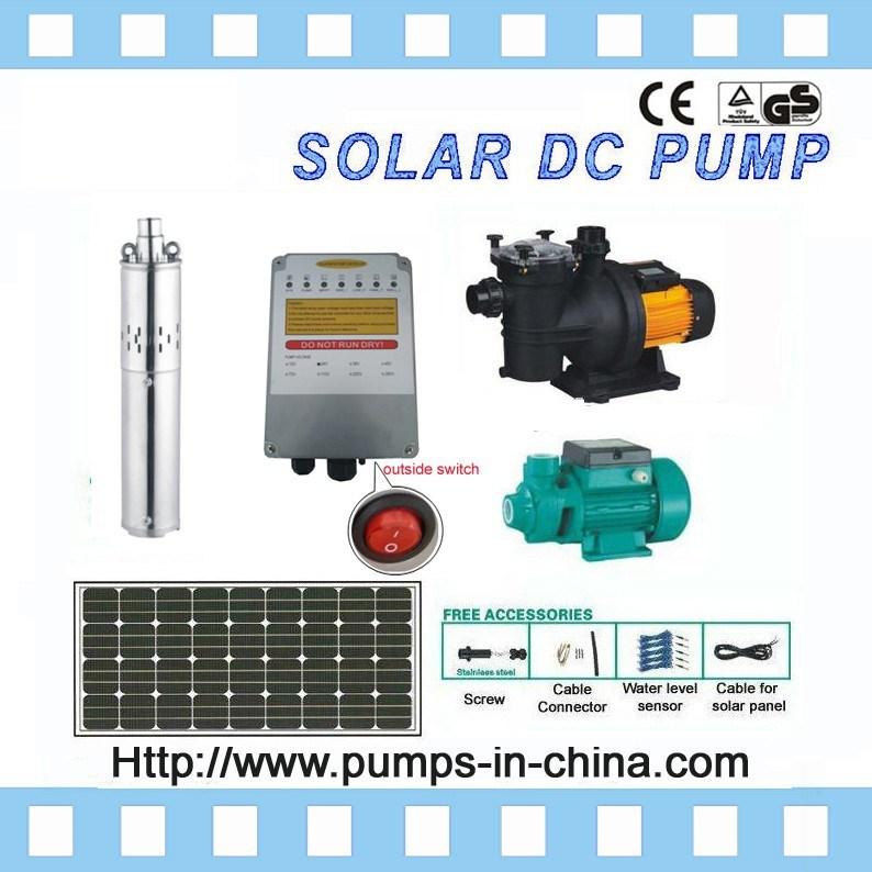 China Solar Dc Water Pump Kits Solar Powered Swimming