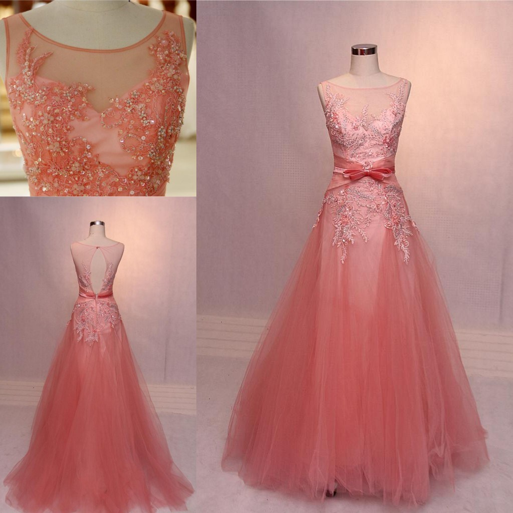 China 2018 New Custom Made Pink Formal Ladies Party Evening Dresses ...
