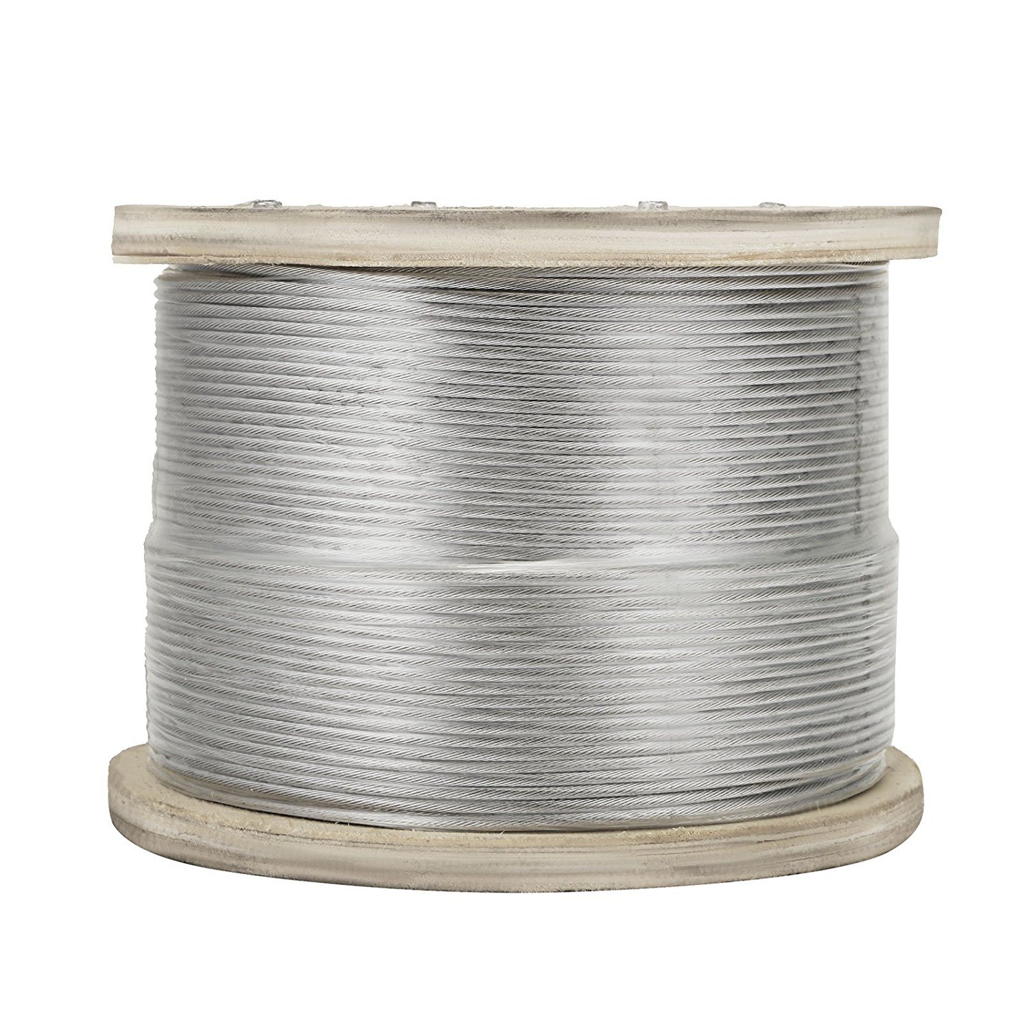 China Nylon Coated Rope 316 Stainless Steel Wire Rope 7X7 Diameter ...