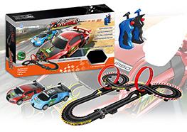 Slot racing car