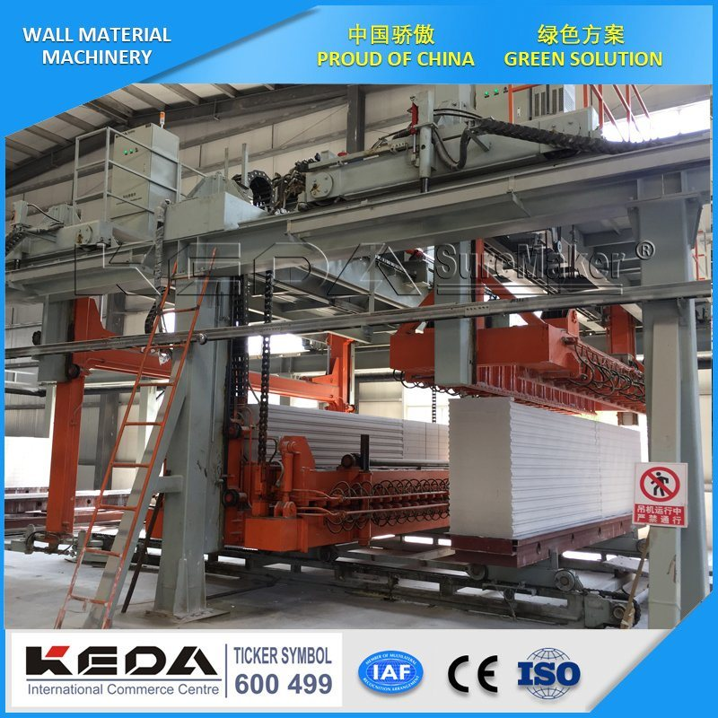 China Aerated Autoclave Concrete Block AAC Block Machine