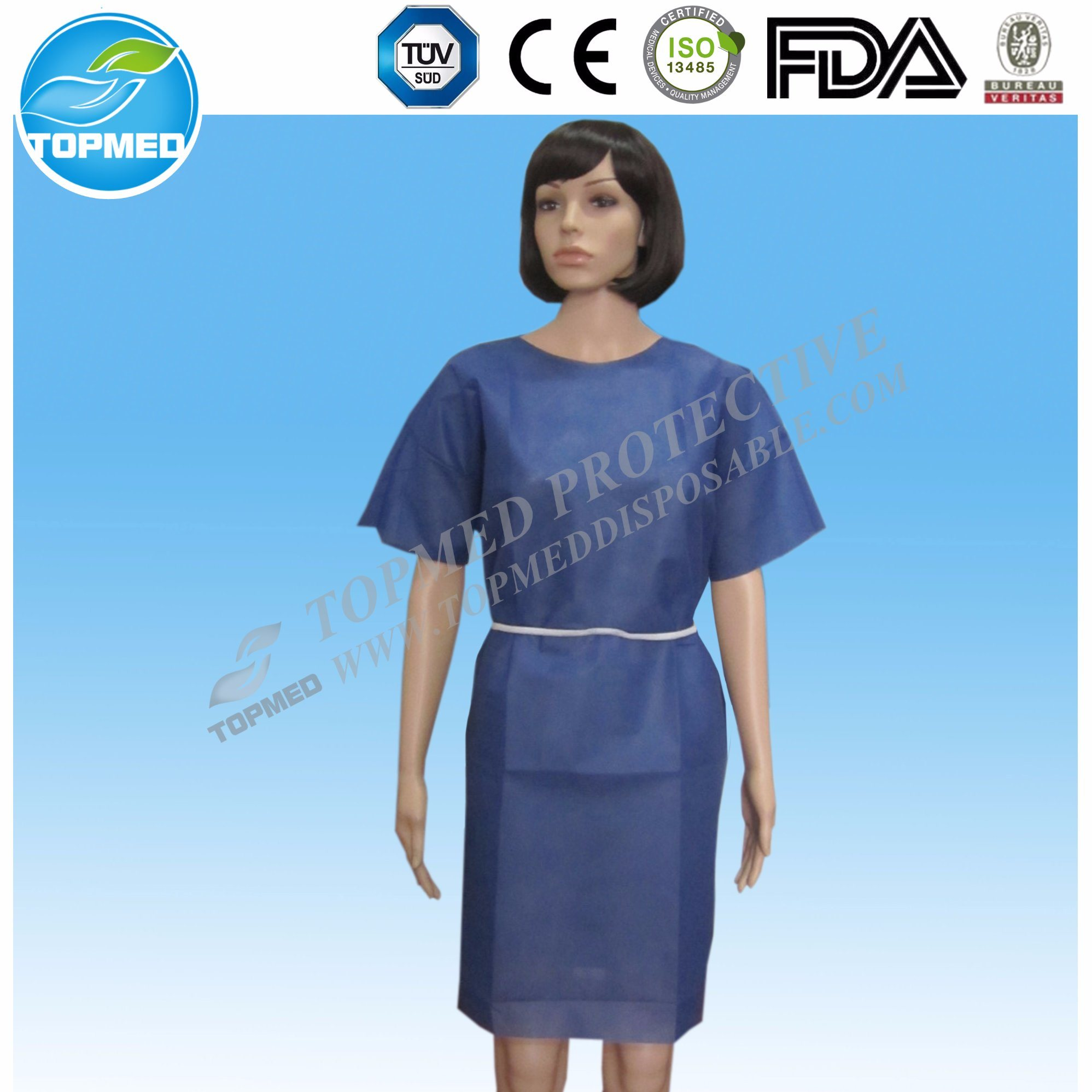 China SMS Patient Gowns ⪞ Heap Non Woven Maternity Gowns for ...