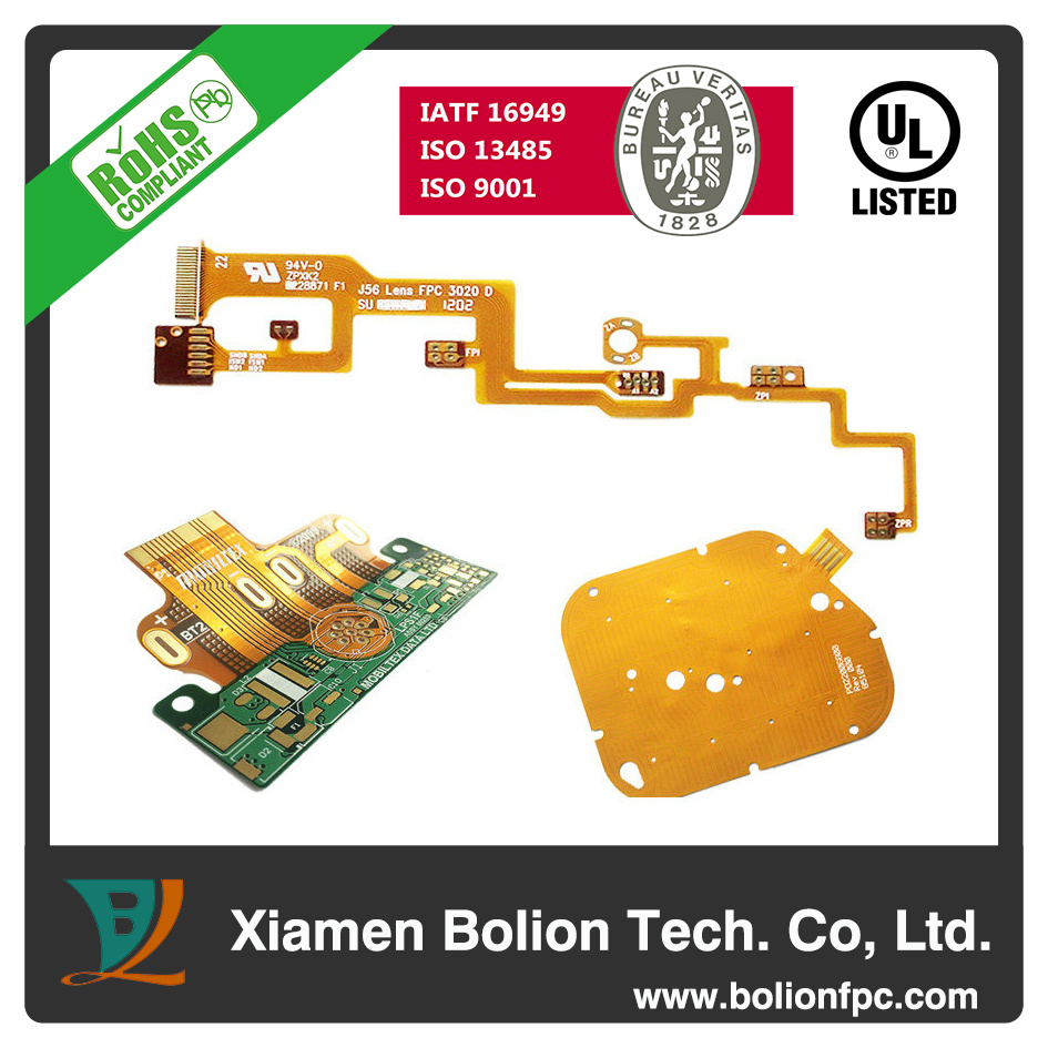 china flexible rigid printed circuit board pcb for automotive and