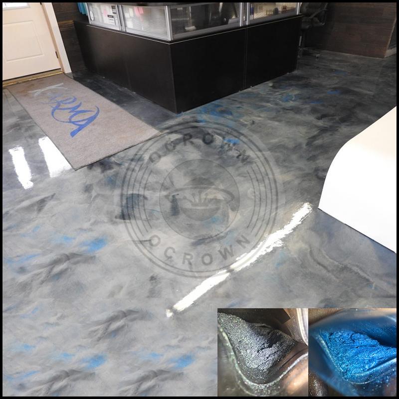 China Metallic Pigment 3d Floor Coating Powder Metalic