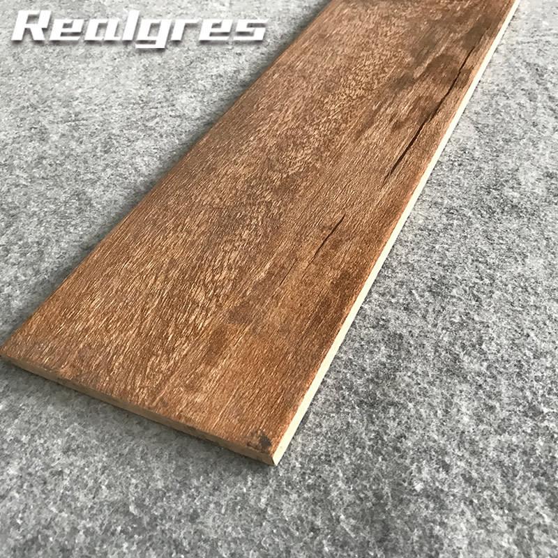 China Clean Porcelain Wood Polish Tile Floor China Wood Tile