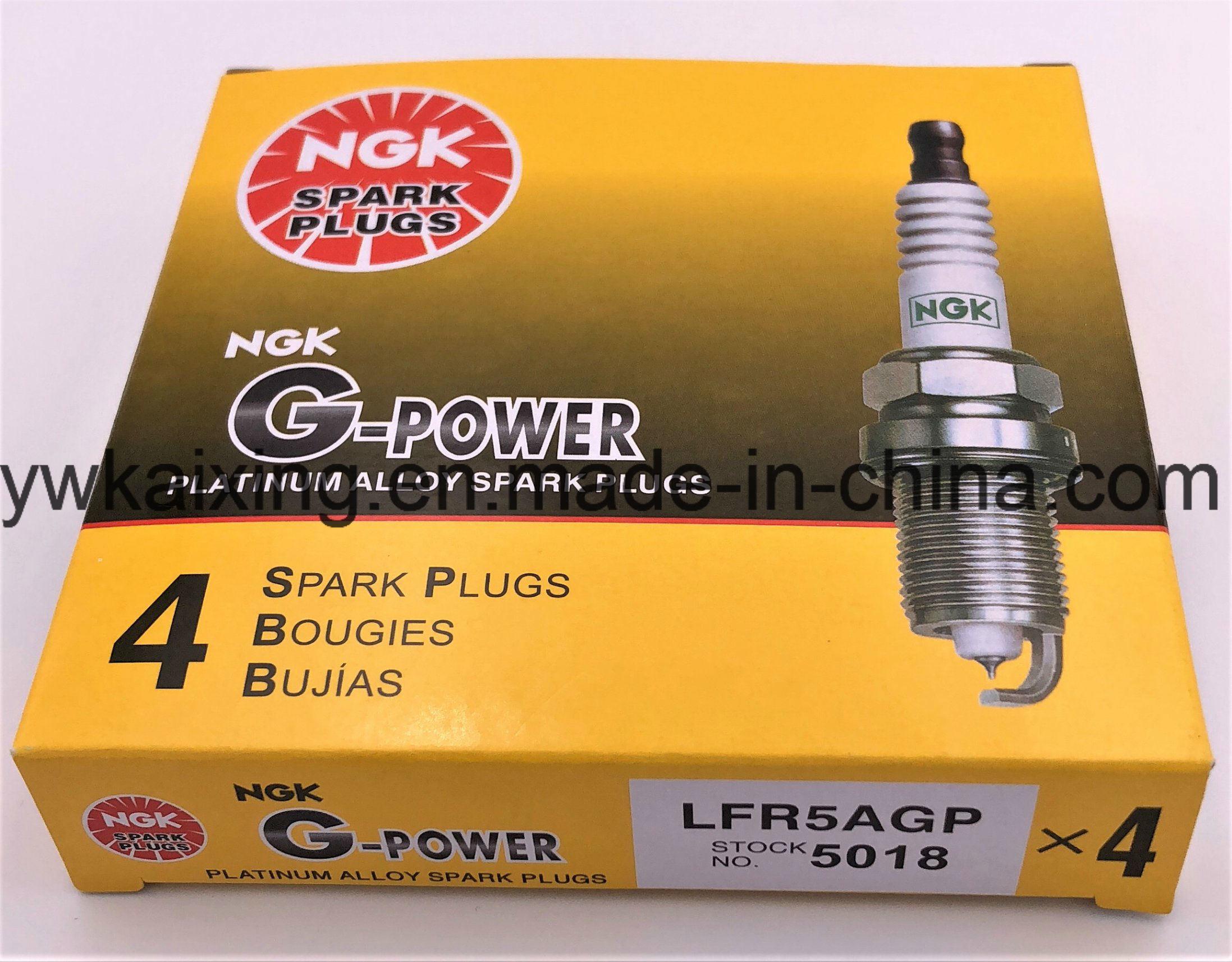 NGK 5018 G-Power Platinum Spark Plugs LFR5AGP 6 PCS *NEW*
