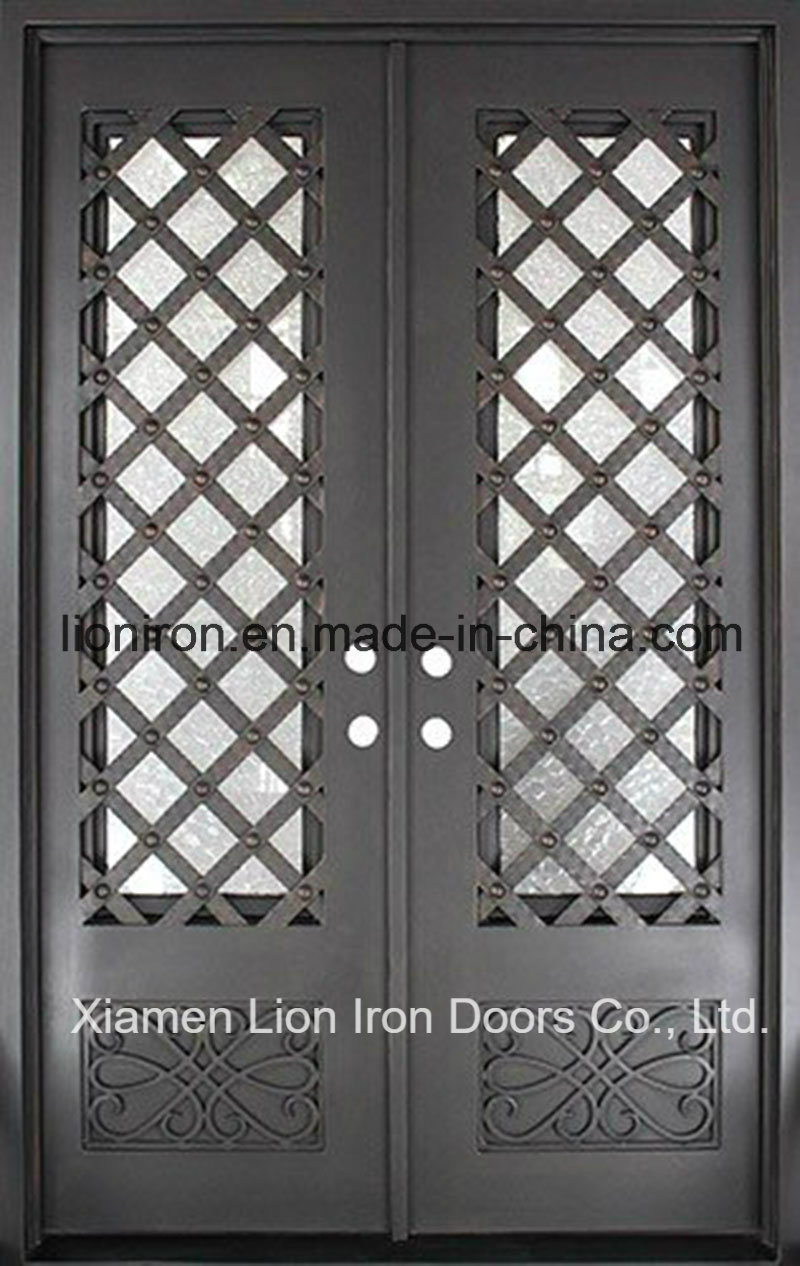 China Residential Steel Security Doors Courtyard Entry Gates Front