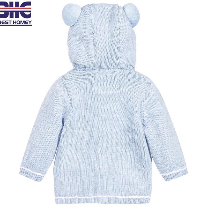 e366110db China Children′s 100% Cotton Round Neck Button Cartoon Knitted ...
