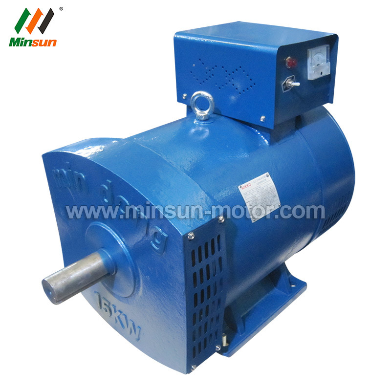 China 10kw 12kVA Brush Copper Wire St Stc Alternator Generador ...