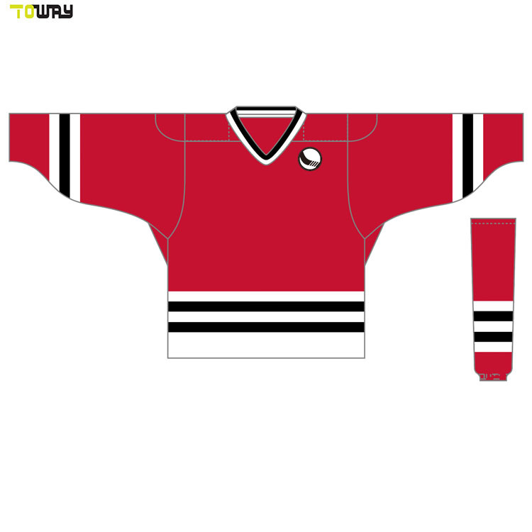 purchase cheap 55ef1 80df7 [Hot Item] Slim Fit Toddler Cheap Ice Hockey Jersey