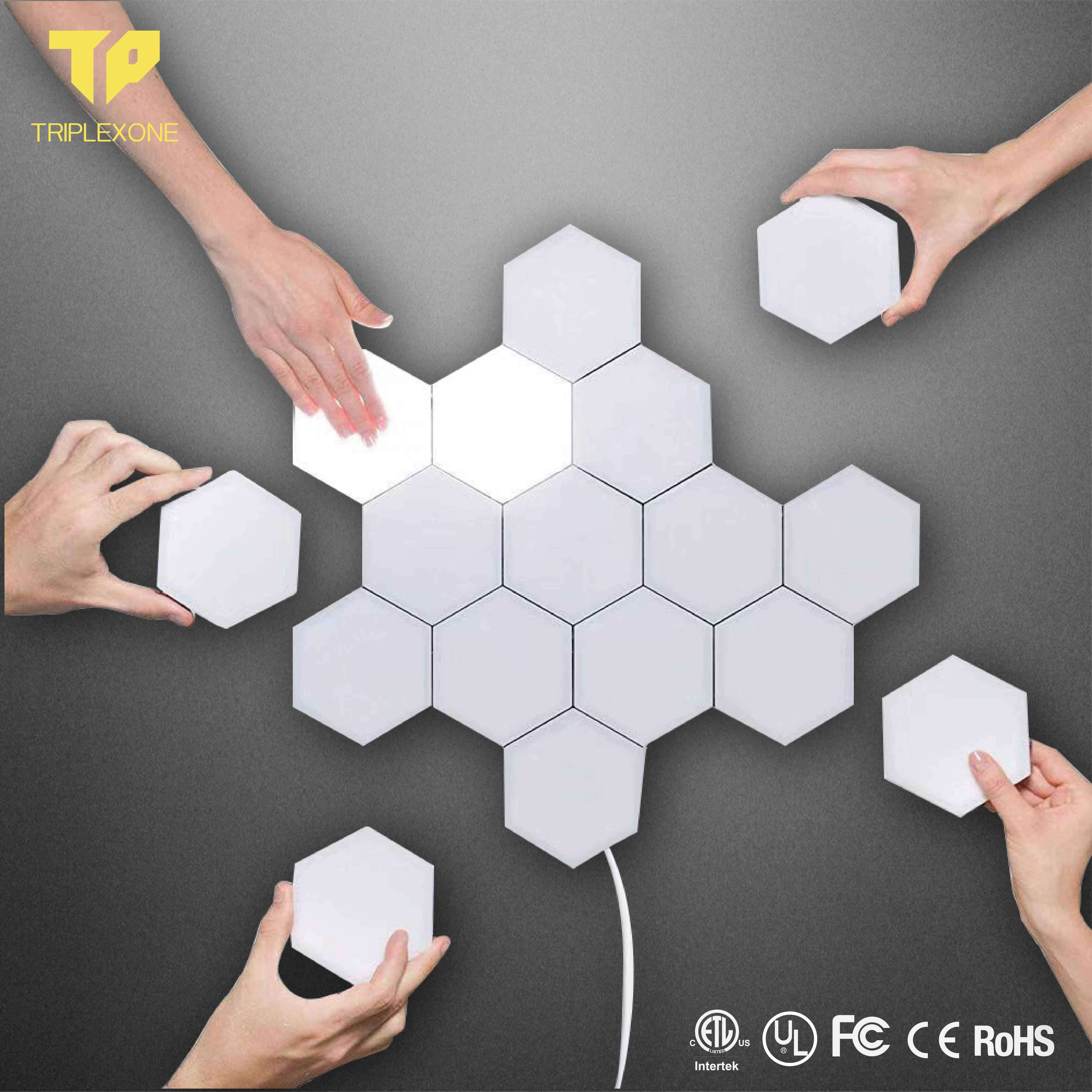China Quantum Light Led Hexagonal Lamps