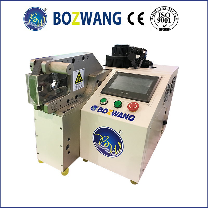 china cable wire harness machine hexagon edge terminal crimping rh bozhiwang en made in china com Parker Hydraulic Hose Crimping Machine Hose Crimping Machine Suppliers