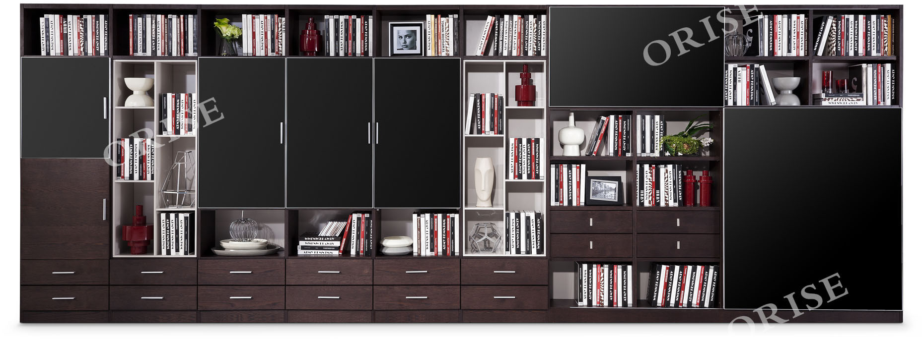 China Contemporary Home Office Furniture Oak Wood Bookcase