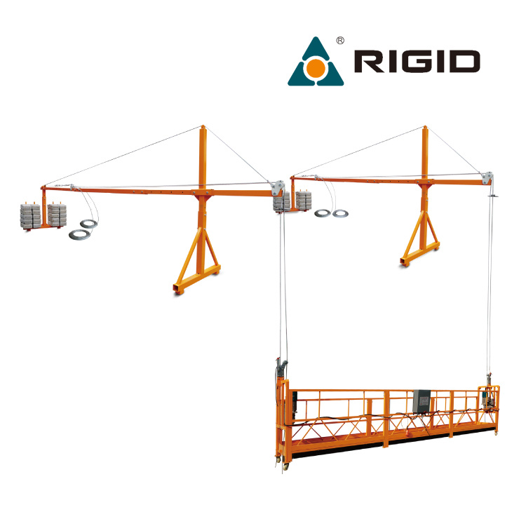 China Zlp800 Building Hanging Scaffold Electric Swing Stage